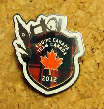 TEAM CANADA  LONDON 2012  Pin Badge  Olympic Paralympic NOC Pin Badge dated