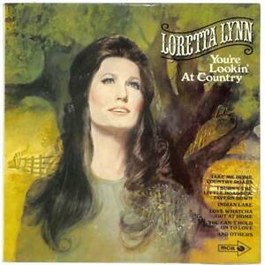 Loretta Lynn - You're Lookin' At Country - LP Vinyl Record