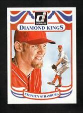 Stephen Strasburg--Washington Nationals--2014 Donruss Diamond King Baseball Card