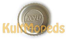 Tankdeckel pas f Simson AWO S T Sport Touren mit Logo Alu silber Oldtimer Tank