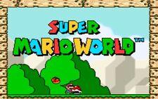 Super Mario World (Super Nintendo Entertainment System, 1992) Cartridge only