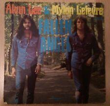 ** ALVIN LEE & MYLON LEFEVRE - FALLEN ANGEL - FRENCH PICTURE SLEEVE 1973 **