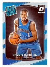Dennis Smith Jr. 2017-18 Donruss Optic Rated Rookie Holo Silver Dallas Mavericks