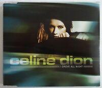 CELINE DION - CD PROMO - I DROVE ALL NIGHT (cyndi lauper cover) ♦ MAXI-CD ♦