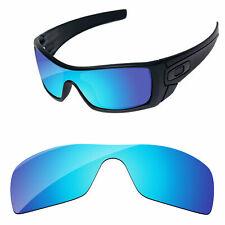 Papaviva Hielo Azul Espejo Polarizado Lentes De Reemplazo para Oakley Batwolf OO9101