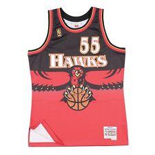 Dikembe Mutombo 1996-97 Atlanta Hawks Mens Swingman Jersey Red M 9fd9392f4