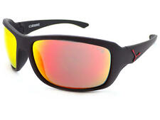 d4d0ff014c CEBE - HAKA L Wrap Sunglasses Matte Black Rubber   Red Mirror Lens CBHAKAL4