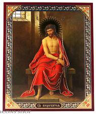 Jesus Christ in the crown of thorns icon Иисус Христос в терновом венце икона
