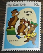 Gambia - 1984 - Postfris - Disney - Knabbel en Babbel maken Paasei