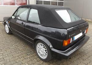 VW Golf 1 Cabrioverdeck - Stoff schwarz (Baujahr 79-93)