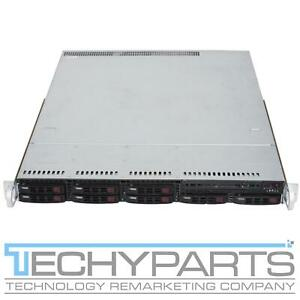 SUPERMICRO CS113TQ-R700WB X10DRW-i 2x LGA2011v3 Xeon E5-26xx 8-Bay 2.5 1U Server