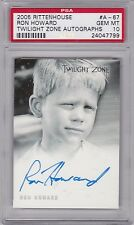 TWILIGHT ZONE SERIES 4 SCIENCE & SUPERSTITION A67 RON HOWARD AUTOGRAPH PSA10 GEM