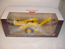 1/16 Minneapolis Moline G850 W/2-Row Picker by SpecCast! Firestone Edition NIB!