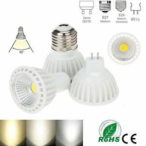 Dimmable 15W LED Bulbs Spotlights 110V 220V DC12V COB-C GU10 MR16 E27 E26 Lamp