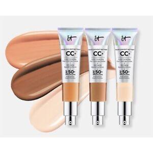 IT Cosmetics Your Skin But Better CC+ Cream Serum FULL COVERAGE LIGHT or MEDIUM