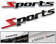 New Racing Sports Sticker Sports 3D Chrome Badge Logo Sticker for Car & Bike