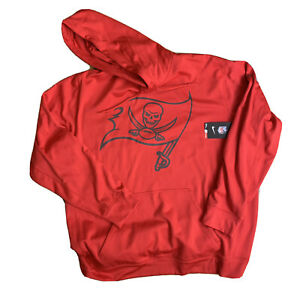 NWT NIKE THERMA-FIT Tampa Bay Buccaneers Size 2xl Hoodie Sweater 00s