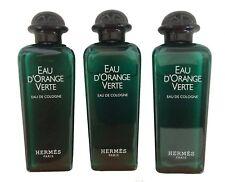 (10) Hermes Eau d'Orange Verte Eau de Cologne Splash Bottles (1 oz. each)