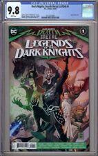 DARK NIGHTS DEATH METAL LEGENDS OF THE DARK KNIGHT 1 CGC 9.8 1ST & 2ND PRINTING!
