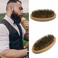 Premium Men's Boar Bristle Beard Brush Moustache Men's Grooming Kit For Him Gift