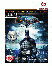 Batman Arkham Asylum GOTY Game of the year Steam Pc Key Game Code