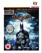 Batman Arkham Asylum GOTY Game of the year Steam Pc Key Game Code [Blitzversand]