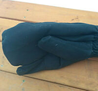 Mittens Gloves Tankmen Warm Winter 80's Vintage USSR Military Tank Driver