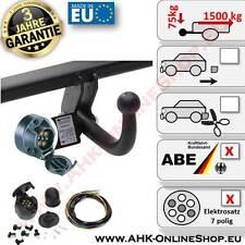 AHK + E-Satz 7 polig Dacia Duster ab 2013 Anhängerkupplung Komplett AHZV Neu