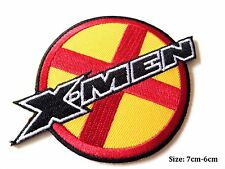 X-Men Logo iron on patch badge embroidered Marvel Comic Movie  # 37