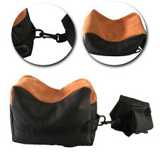 Shooting Rest Bag Front&Rear Set Rifle Target Hunting Bench Stand Sandbag Black