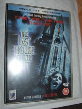 THE LAST HOUSE ON THE LEFT  Wes Craven David Hess DVD 2 DISC