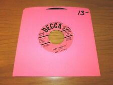 """PROMO COUNTRY 45 RPM - RED SOVINE - DECCA 29211 """"DON'T DROP IT/DON'T BE THE ONE"""""""