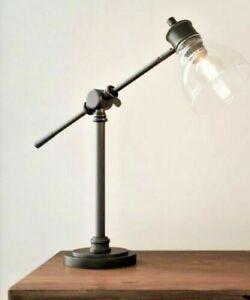 Hampton Bay 18.25 in. Oil Rubbed Bronze Counter Balance Desk Lamp
