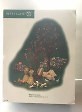 Department 56 Village Accessory Autumn Landscape 27 Pieces #53138 Fall/halloween