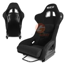 New 2x JDM Black Color Bull Shaped Lightweight Sport Racing Bucket Seat (Pair)