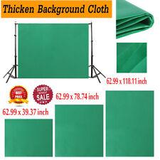Green Cotton Photo Background Studio Photography Screen Chromakey Backdrop Cloth