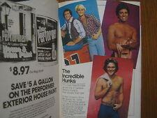 1980 TV Guide (DUKES OF HAZZARD/BJ &THE BEAR/GREG EVIGAN/TOM WOPAT/JOAN HACKETT)