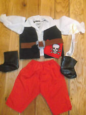 "Nouvelle marque grand Roby & Rio Smoby poupées vêtements costume de pirate. 25 ""poupées vêtements"