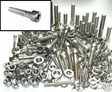 Stainless Allen Bolts Husqvarna Husaberg CR WR WRE WRS - Nut and Bolt Kit
