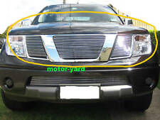 Nissan Navara D40 05-11 Upper Top Billet Grille Grill (Without Badge Hole)