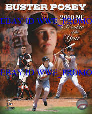 Buster Posey San Francisco Giants 2010 Rookie of the Year 8X10 BASEBALL PHOTO