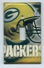Green Bay Packers Light Switch Plate Cover NFL Lombardi Trophy Title Town
