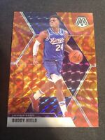 BUDDY HIELD 2019-20 Panini Mosaic Reactive Orange #198 Sac Kings