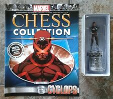 Marvel Chess Collection #38 Cyclops White King Resin Figure & Magazine