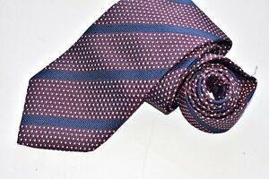 Men's Ermenegildo Zegna Purple Silk Neck Tie Made in Italy