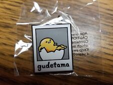 Sanrio Friend of the Month Pin Gudetama With Descriptive Card