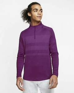Nike Dri-FIT Vapor Men's 1/2-Zip Golf Top Purple TW $110 BV0390-502 ALL SIZES