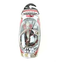 Star Wars Titanium Micro Machines Obi-Wan's Jedi Starfighter w/Hyperdrive Ring