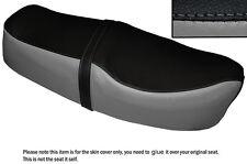 GREY & BLACK CUSTOM FITS HONDA CD 185 200 BENLY DUAL LEATHER SEAT COVER