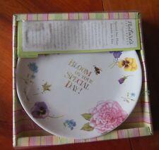 "Marjolein Bastin Bloom on Your Special Day Plate 9"" Hallmark NIP Nature's Sketch"